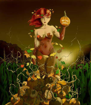 Poison Ivy in the Fall by Harley-1979