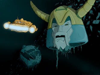 The Desolation of Unicron by Harley-1979