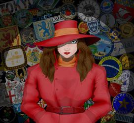 Carmen Sandiego by Harley-1979