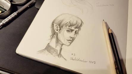 Sketchtember 03 Elfe by Nowio