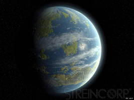 Terraformed Venus by streincorp