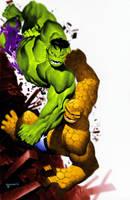 Hulk Vs Thing by TheRealSurge