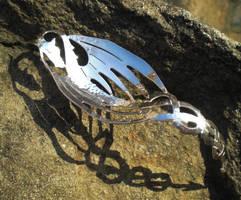 Absinthe Dragon Spoon by fairyfrog