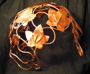 Fairy Ivy Helmet by fairyfrog