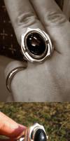 Onyx hidden signet ring by fairyfrog