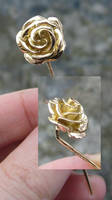 Gold Rose by fairyfrog