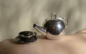 Tea set pendant presentation by fairyfrog