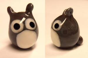 Tiny Glass Totoro by fairyfrog