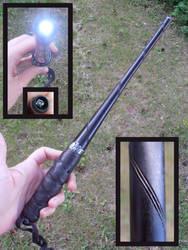 Lumos wand by fairyfrog