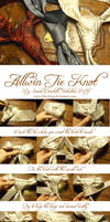The Allwin tie knot Tutorial by fairyfrog