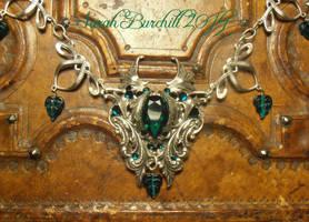 Emerald Dreams - necklace by fairyfrog