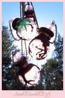 Sakura glass miniature vials by fairyfrog