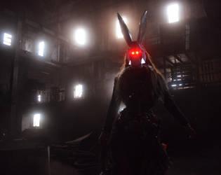 Bunny Nightmare - Dark by fairyfrog
