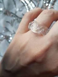 Ring of glass swirls by fairyfrog