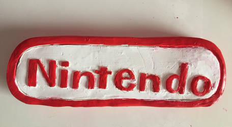 Nintendo logo (clay) by Kareena08
