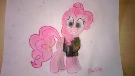 Pinkie Pie in a WBTBWB shirt by IceColdWulf