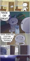 Trick or Treat by theodd1soutcomic
