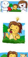 I Lion You by theodd1soutcomic