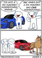 Horsepower by theodd1soutcomic