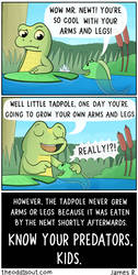 The Newt and The Tadpole by theodd1soutcomic