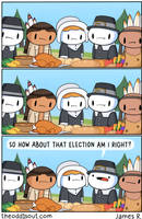 The First Thanksgiving by theodd1soutcomic