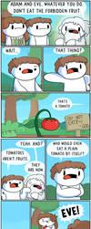 The Forbidden Fruit by theodd1soutcomic