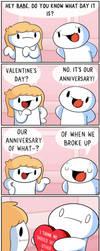 Happy Valentines Day! by theodd1soutcomic
