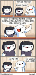 You might be ugly now by theodd1soutcomic