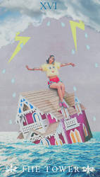 Melanie Martinez as ''The Tower'' Tarot Card by marcosphil34