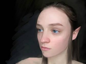 I wish I were an elf by 0-no-0