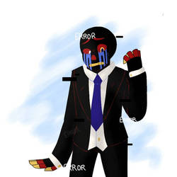 Error in a suit by ImagineAxolotls