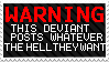 WARNING by Vexcel