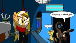 Commission: Ambush At The Disco by Dronehunter19