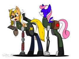 Commission: Hard Knock Downgrade by Dronehunter19