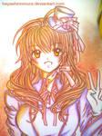 Commi: Miharu PEACE by hayashinomura