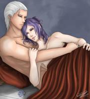 Hidan and Konan relaxing by Caru-Ra