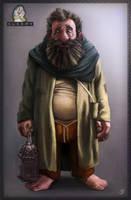 7 dwarves - Sleepy the dwarf by JordyLakiere