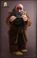 7 Dwarves - Bashful the dwarf by JordyLakiere
