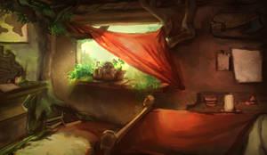 Interior light sketch thingie by JordyLakiere