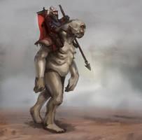 Cyclops rider by JordyLakiere