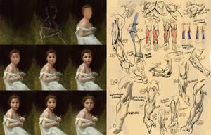 Studies 126 of 1000 by JordyLakiere