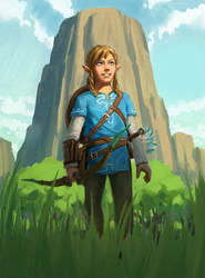 The Legend of Zelda: Breath of the Wild -  fanart by JordyLakiere