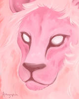 Rose's Lion by Alithographica