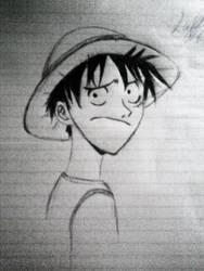 Luffy1 by CoolnSpicyMoka