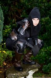 Crouching Assassin by DemoraFairy