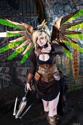 Steampunk Mercy by DemoraFairy