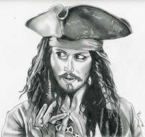 Jack Sparrow - Portrait by fabri360
