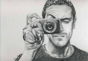 Myself - self portrait - Sketch style by fabri360