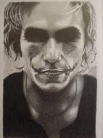 Heath Ledger - The Joker - Makeup by fabri360
