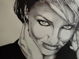 Cameron Diaz - Portrait by fabri360